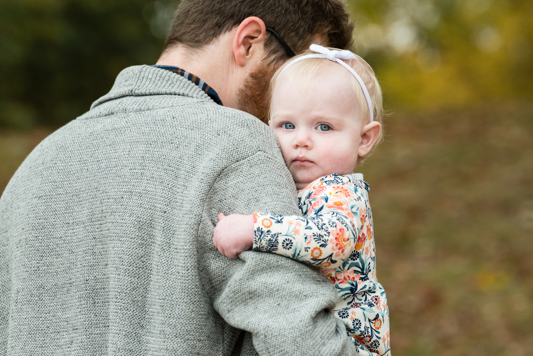 Lincoln Woods RI Fall Family photo session